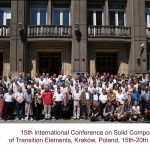 15th International Conference on Solid Compounds of Transition Elements
