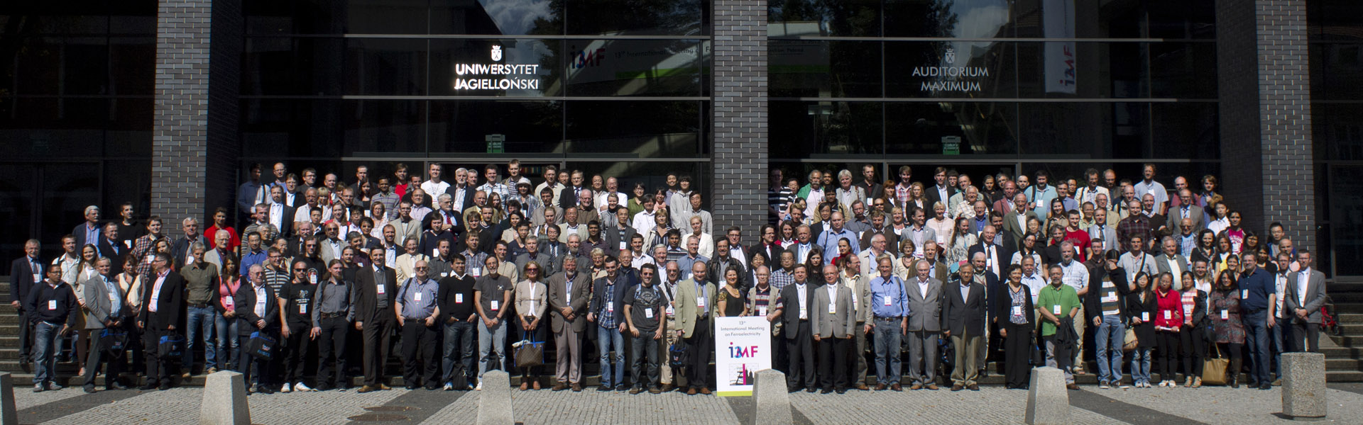 13th International Meeting on Ferroelectricity